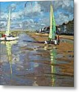 Reflection Metal Print by Andrew Macara