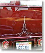 Reflection In Candy Metal Print