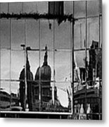 Reflection Of The City Metal Print