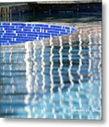 Reflection Pool Metal Print