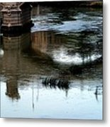 Reflection Tevere Metal Print