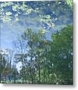 Reflections 3 Metal Print