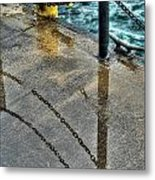 Reflections After The Rain Metal Print