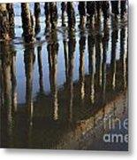 Reflections Avila Beach California Metal Print
