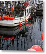 Reflections At French Creek Metal Print by Bob Christopher