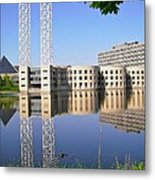 Reflections In The Rideau River Metal Print