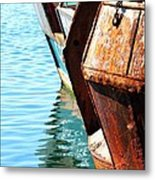 Reflections Of A Rust Bucket Metal Print