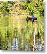 Reflections Of Fathers' Day Metal Print