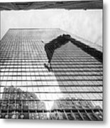 Reflections Of Freedom Metal Print