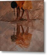 Reflections Of India Metal Print