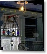 Reflections Of The Past Metal Print by L Granville Laird