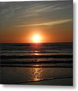 Reflections Of The Rise Metal Print