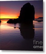 Reflections Of The Tides Metal Print