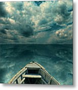 Reflections On The Sea Metal Print
