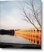 Reflections On The Susquehanna Metal Print