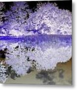 Reflective Abstracts Metal Print by Kim Galluzzo Wozniak