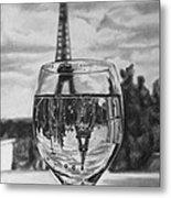 Reflexions Francaises Metal Print