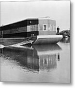 Refrigerated Barge, C1935 Metal Print by Granger