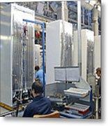 Refrigerator Factory Metal Print by Ria Novosti