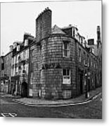 Regent Quay And Marischal Street Aberdeen Scotland Uk Metal Print