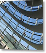 Reichstag Dome Metal Print