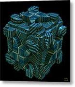 Relativity II Metal Print