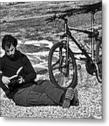 Relax And Read Metal Print