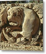 relief of Lion at Tel Beit She'an Metal Print