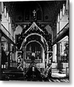 Religion, Our Lady Of Peace Cathedral Metal Print by Everett