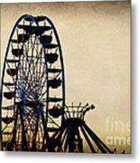 Remember When Ferris Wheel Metal Print
