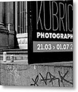 Remembering Kubrick Metal Print