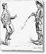 Remington: Cowboy, 1888 Metal Print
