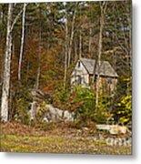 Remote Vermont Cabin Metal Print