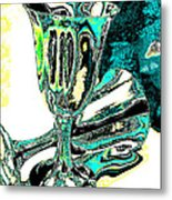 Renaissance Toasting Goblets Photograph And Digital Painting Metal Print