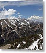 Rendezvous Mountain Metal Print