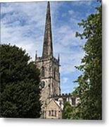 Repton Church Metal Print