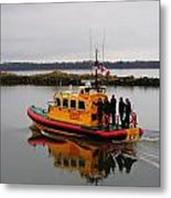 Rescue Boat Metal Print
