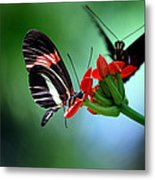 Reservations For Two Metal Print
