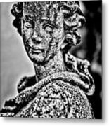 Resigned To Fate - Bw Metal Print