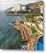 Resort Town Metal Print