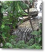 Respite From The Maddening Crowds Metal Print