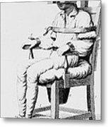 Restraining Chair 1811 Metal Print