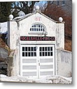 Retired Fire Station Metal Print