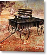 Retired Wagon 2 Metal Print