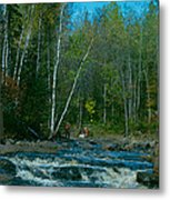 Retirement Is Time For Fishing Metal Print