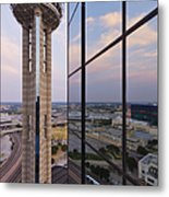 Reunion Tower Metal Print by Jeremy Woodhouse