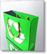 Reusable Shopping Bag, Artwork Metal Print