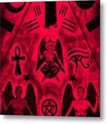 Revelation 666 Metal Print by Kenal Louis