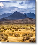 Reverse Mountains And Aeolian Buttes Metal Print