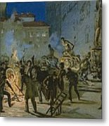 Revolution In Florence Metal Print